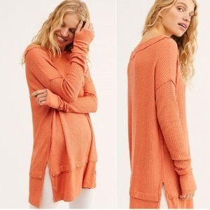 NEW FREE PEOPLE North Shore Thermal Top